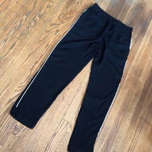 Zara jogger pants formal wear black stripe leg